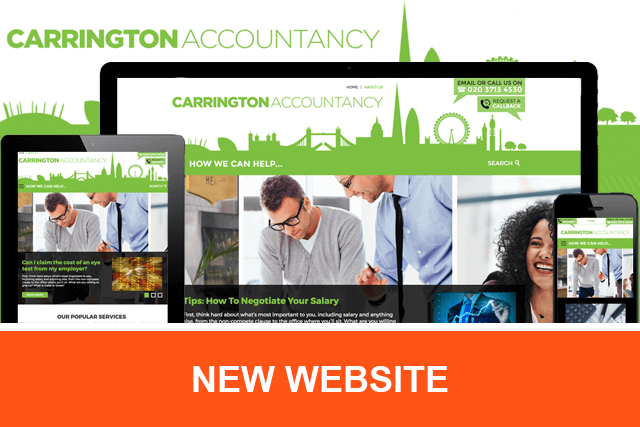 Carrington Accountancy - New Website