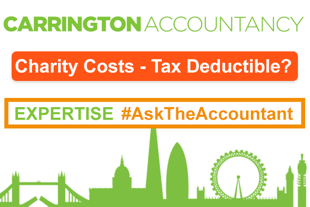 Our staff raise money for a chosen charity each year. A third party provides transport, hotels etc. for our volunteer employees to attend fundraising events. The company then reimburses the third party. Are these costs that we pay tax-deductible for us? #AskTheAccountant