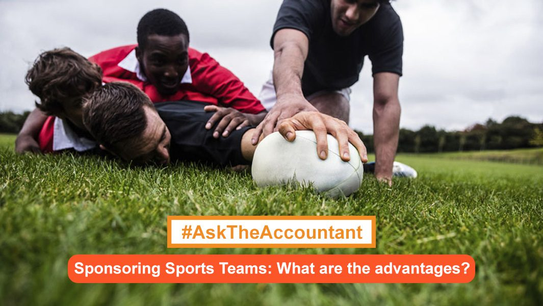 Sponsoring Sports Teams: What are the advantages? #AskTheAccountant