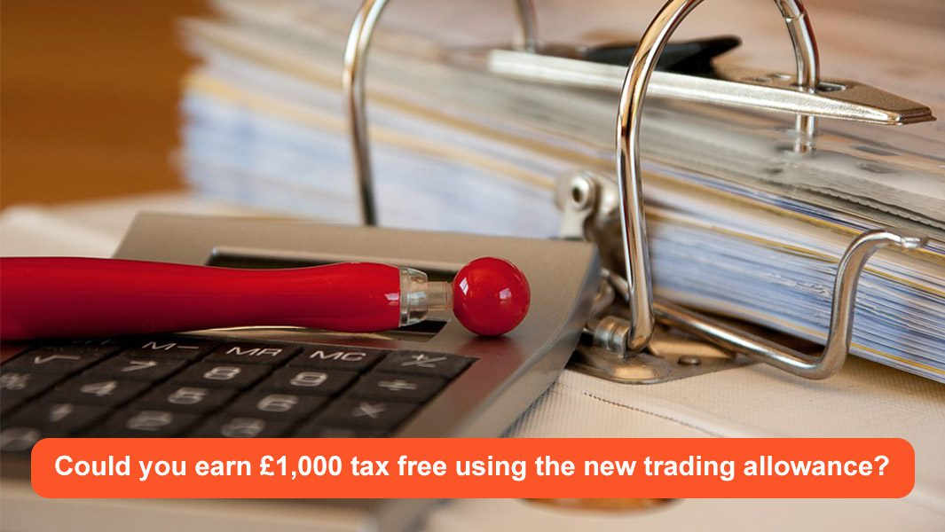 Could you earn £1,000 tax free using the new trading allowance?