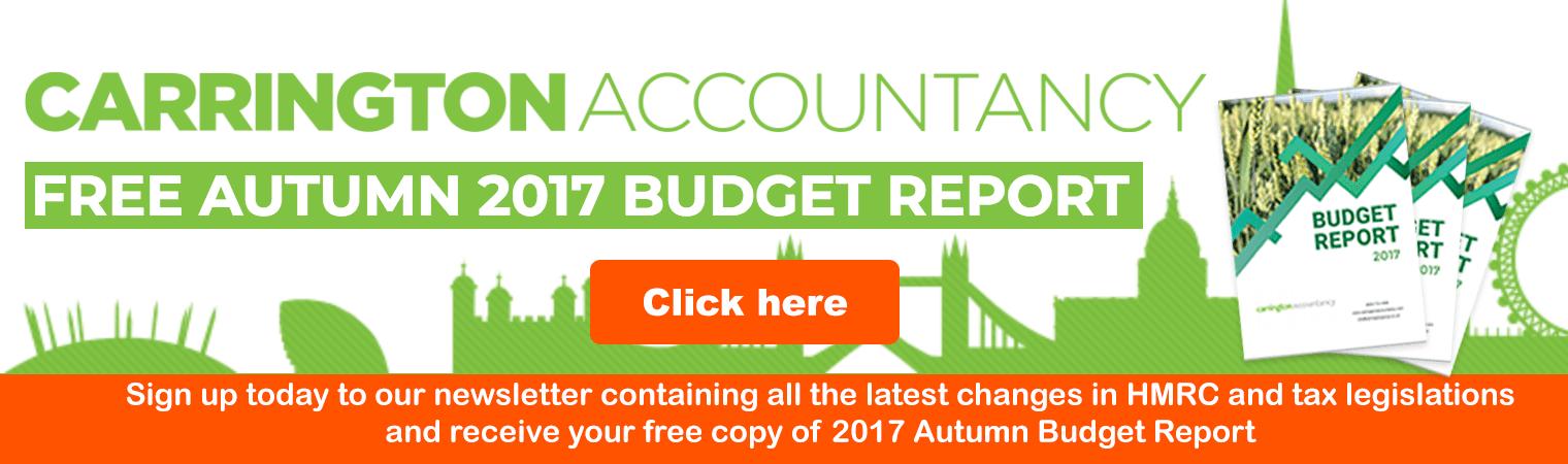 Free Autumn 2017 Budget Report