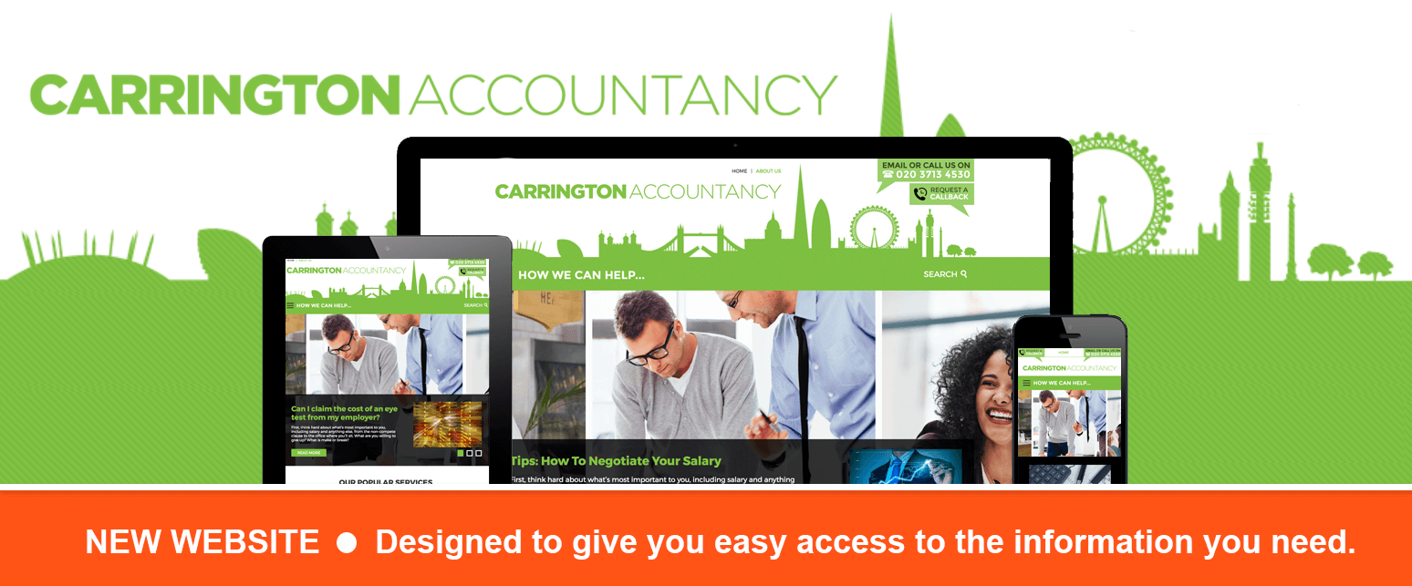 Carrington Accountancy New Website