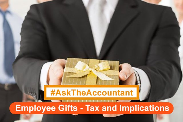 Gifts to Employees: What are the tax implications? #AskTheAccountant