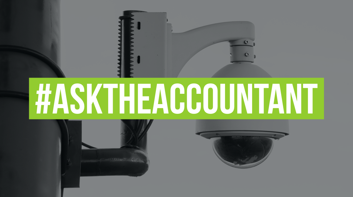 I am considering buying and installing security cameras around my home, in which I also have a small office - Can I claim the cost as a tax deductible business expense? #AskTheAccountant